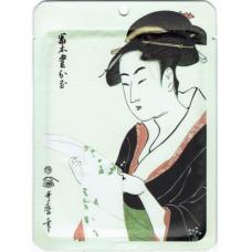 Mitomo Маска для лица Жемчуг+Экстракт цветков Сакуры, 25 гр