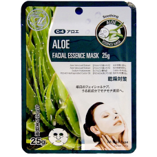 Mitomo Natural 512 Маска для лица Алоэ, увлажняющая, 25 гр