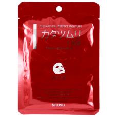 Mitomo Маска для лица Экстракт улитки+EGF, восстанавливающая, 25 гр