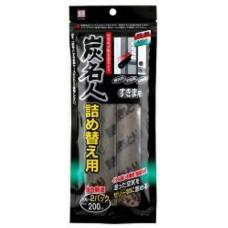 Kokubo Dehumidification Поглотитель влаги и неприятных запахов для одежных шкафов, запаска, 150 г