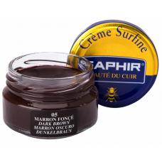 Saphir Крем Creme Surfine, банка стекло, темно-коричневый, 50 мл