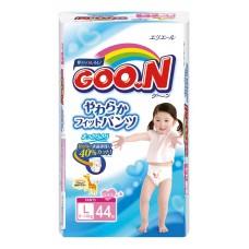 GooN трусики для девочек L (9-14 кг) 44 шт