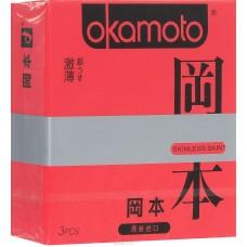 Презервативы Okamoto Skinless Skin Super Thin, 3 шт