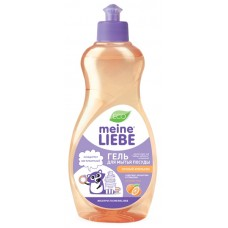 Meine Liebe, гель для мытья посуды, Сочный апельсин, концентрат, 500 мл
