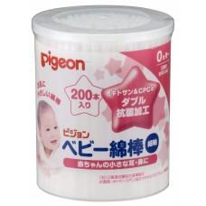 Pigeon, Ватные палочки, 200 шт