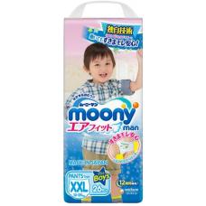 Moony, трусики для мальчиков Super BIG (13-25 кг), 26 шт