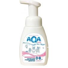 Aqa Baby Пенка для подмывания девочек, 250 мл