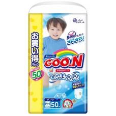 GooN трусики для мальчиков Ultra Jumbo Pack XL (12-20 кг) 50 шт.