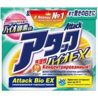 Attack, BioEX, концентрированный универсальный стиральный порошок, 1 кг