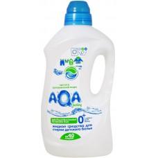 Aqa Baby Жидкое средство для стирки детского белья, 1500 мл