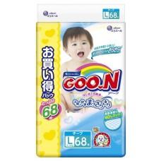 GooN подгузники Ultra Jumbo Pack L (9-14 кг) 68 шт