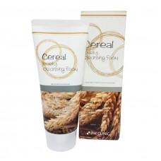 3W Clinic Пенка для умывания с зерновыми экстрактами Cereal Lovely Cleansing Foam, 100 мл