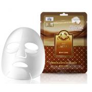 3W Clinic Освежающая тканевая маска для лица с плацентой, 1 шт