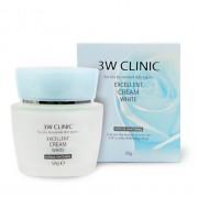 3W Clinic Крем для лица осветляющий Excellent Cream White, 50 гр