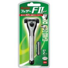 Feather FII Neo Мужской бритвенный станок с Двойным лезвием