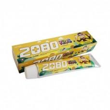 Dental Clinic 2080 Kids Зубная паста детская со вкусом банана Banana 2+, 80 г