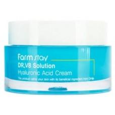 Farmstay Крем с гиалуроновой кислотой DR.V8 Solution Hyaluronic Acid cream, 50 мл