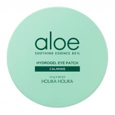 Holika Holika, Гидрогелевые патчи для глаз Aloe Soothing Essence 80%, 60 шт