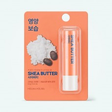 Holika Holika Бальзам для губ с маслом ши Pure Essence Shea Butter Lip Balm, 3,3 г