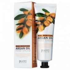 JIGOTT Увлажняющий крем для рук с аргановым маслом Real Moisture Argan Oil Hand Cream, 100 мл