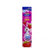 Lion Thailand Kodomo паста зубная гелевая для детей с 6 месяцев с ароматом клубники, 40 г