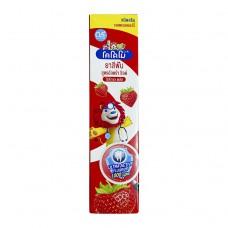 Lion Thailand Kodomo паста зубная гелевая для детей с 6 месяцев с ароматом клубники(лев), 40 г