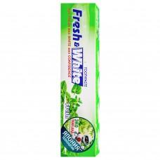 Lion Thailand Fresh & White Паста зубная для защиты от кариеса прохладная мята 160 г