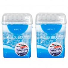 NAGARA Aqua Beads Поглотитель запаха гелевый 360 г., 2шт