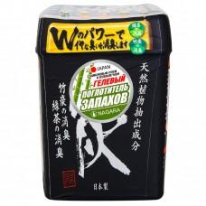 NAGARA Поглотитель запаха гелевый с бамбуковым углем и зеленым чаем, 320 г