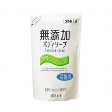 Натуральное бездобавочное жидкое мыло Nihon No Added Pure Body Soap, 400ml