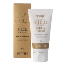 Petitfee Антивозрастной крем для шеи GOLD INTENSIVE NECK CREAM, 50 г