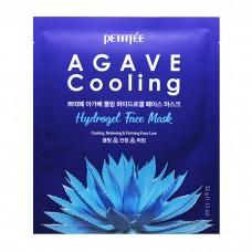 Petitfee Маска для лица c АГАВОЙ Agave Cooling Hydrogel Face Mask, 1 шт