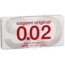 Sagami, Презервативы полиуретановые Original 002, 2 шт
