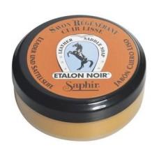 Saphir Очиститель мыло для повседневного ухода Etalon Noir SADDLE SOAP, 100 мл.
