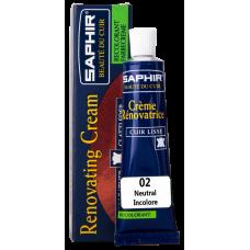 Saphir Восстановитель кожи Creme RENOVATRICE, 25 мл (бесцветный)