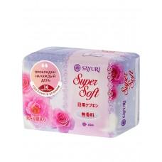 Sayuri Ежедневные гигиенические прокладки, 2 капли Super Soft, 15 см, 36 шт