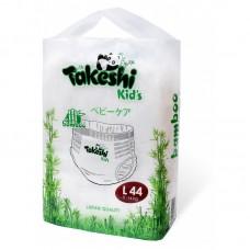Подгузники-трусики для детей бамбуковые Takeshi Kid's L (9-14 кг) 44 шт 1/4