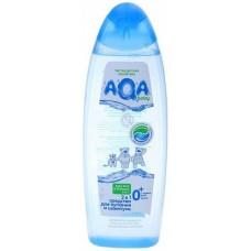 Aqa Baby Средство для купания и шампунь 2 в 1, 500 мл
