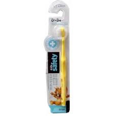CJ Lion Зубная щетка детская Kids Safe с нано-серебряным покрытием, от 0 до 3 лет