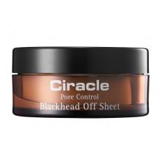 Ciracle Салфетки для удаления черных точек Pore Control Blackhead Off Sheet, 30 шт