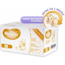 Huggies подгузники Elite Soft 3 (5-9 кг) 120 шт. СЕТ (40*3 шт)
