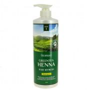 Deoproce Шампунь для волос с зеленым чаем и хной Greentea Henna Pure ReFresh Sha..