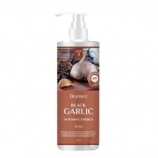 Deoproce Бальзам для волос с экстрактом черного чеснока Black Garlic Intensive Energy Rinse, 1000 мл