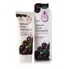 Ekel Пилинг-скатка с экстрактом ягод асаи Natural Clean Peeling Gel Acai Berry ,180 мл