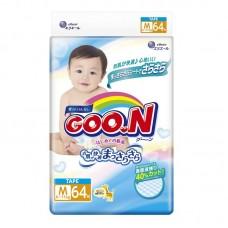 Подгузники Goo.N M 6-11кг 64шт