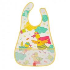 Happy Baby Нагрудник на липучке Waterproof baby bib 16005