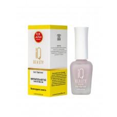 IQ BEAUTY Gold Hardener Укрепитель ногтей с золотой пылью 12,5 мл