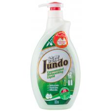 Jundo Концентрированный гель для мытья посуды и детских принадлежностей Зеленый чай с мятой, 1 л