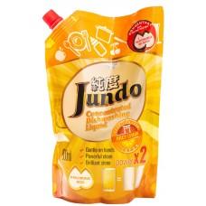Jundo гель для мытья посуды и детских принадлежностей Сочный лимон, запаска, 800 мл