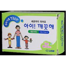 CJ Lion Антибактериальное мыло Ai - Kekute, лимонное масло, 100 г